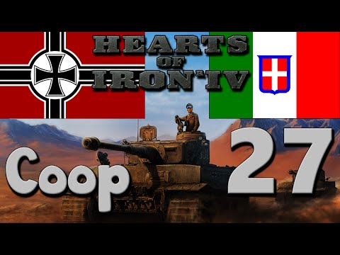 Hearts of Iron 4 Coop: Germany & Italy - Part 27: Drang Nach Osten