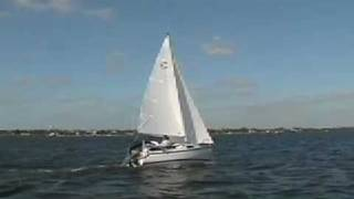 Sailing the Com-Pac Legacy 16 mini cruiser