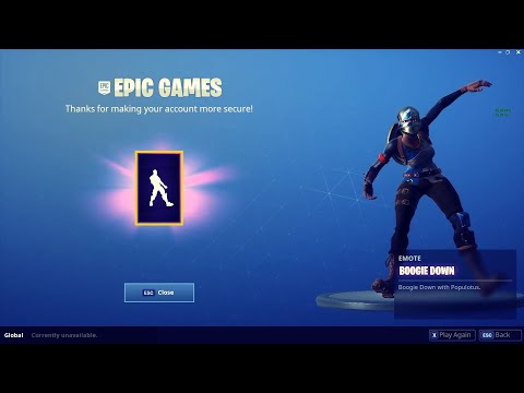 HOW TO GET BOOGIE DOWN EMOTE FREE - Fortnite Battle Royale