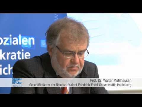 Friedrich Ebert: Vom Sattlergesellen zum Reichspräsidenten