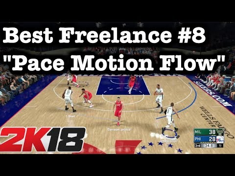 NBA 2K18 Best Defense Breaker Pace Motion Cuts Best Freelance Offense Tutorial. 2K18 #50