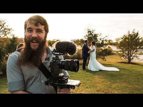 How to film a FIRST LOOK at a wedding