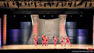 Miniotics (Orange County, CA) at USA Hip Hop Championship Finals 2012 (Junior)
