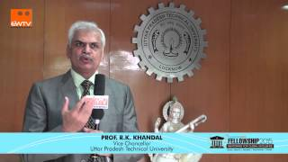 Prof R K Khandal, Vice Chancellor, Uttar Pradesh Technical University, Hindi Version