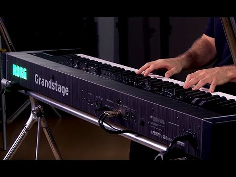 Korg Grandstage Stage Piano - All Playing, No Talking!