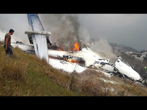 US-Bangla Airlines Q400 Crashes in Nepal