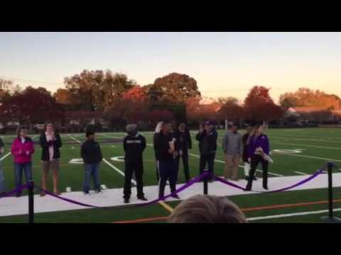 Norfolk Christian Schools Field Dedication