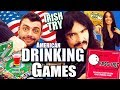 Irish People Try 'Best' AMERICAN DRINKING GAMES!!