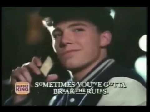 Image result for ben affleck burger king commercial