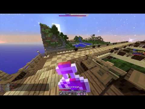 Minecraft Annihilation #14 - Amazing Full Diamond Strength rush [1080p 60fps]
