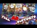 TEAM FULL SUPPORT ATTACK DAMAGE | RAFAELA MARKSMAN | BREAK THE META by ZETA ALPHA (Mobile Legends)