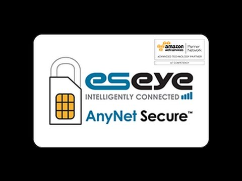 AnyNet Secure - Direct AWS Cloud Integration- IoT - M2M - Secure Technology by Eseye