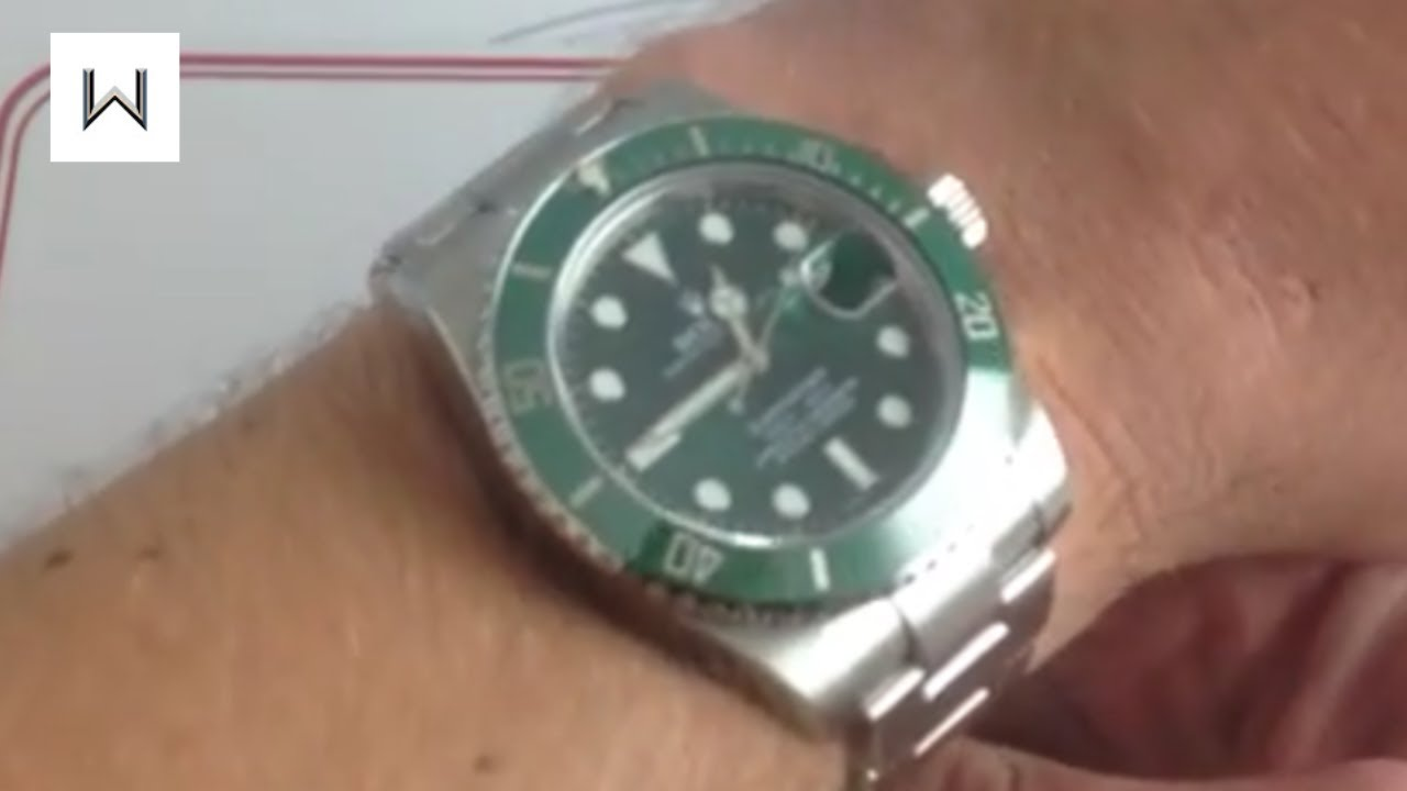 Rolex Oyster Perpetual Submariner Hulk 116610v Luxury Watch Review