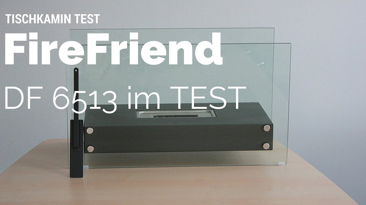 ethanol tischkamin test firefriend df 6513 youtube. Black Bedroom Furniture Sets. Home Design Ideas
