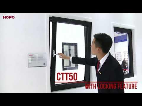 Tilt and Turn Window - HOPO Inc