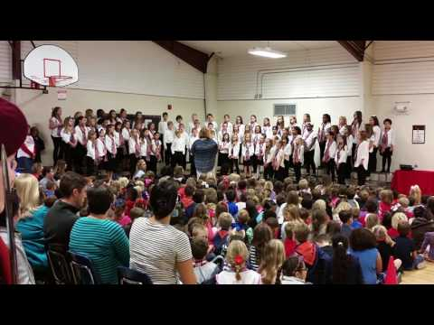 American Tears performed by Canongate Elementary School Chorus