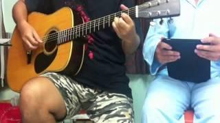 Chưa Bao Giờ - Việt Anh - (guitar by Robeo ft Pyjama)