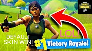 Fortnite: Battle Royale Indonesia! CLUTCH WIN, PROTECT ALL DEFAULT SKINS! (Funny Moments)