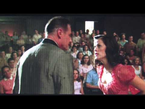 Danny Vinson spars with Reese Witherspoon in Walk The Line