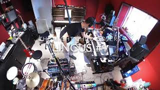 Lingus - Snarky Puppy. One man band multi instrumentalist live looping cover shot on GoPro Max