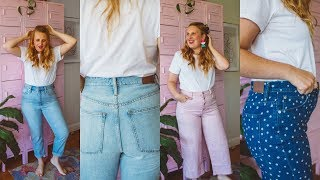 Size 12 Madewell Jeans Review (FAIL or LOVE?)