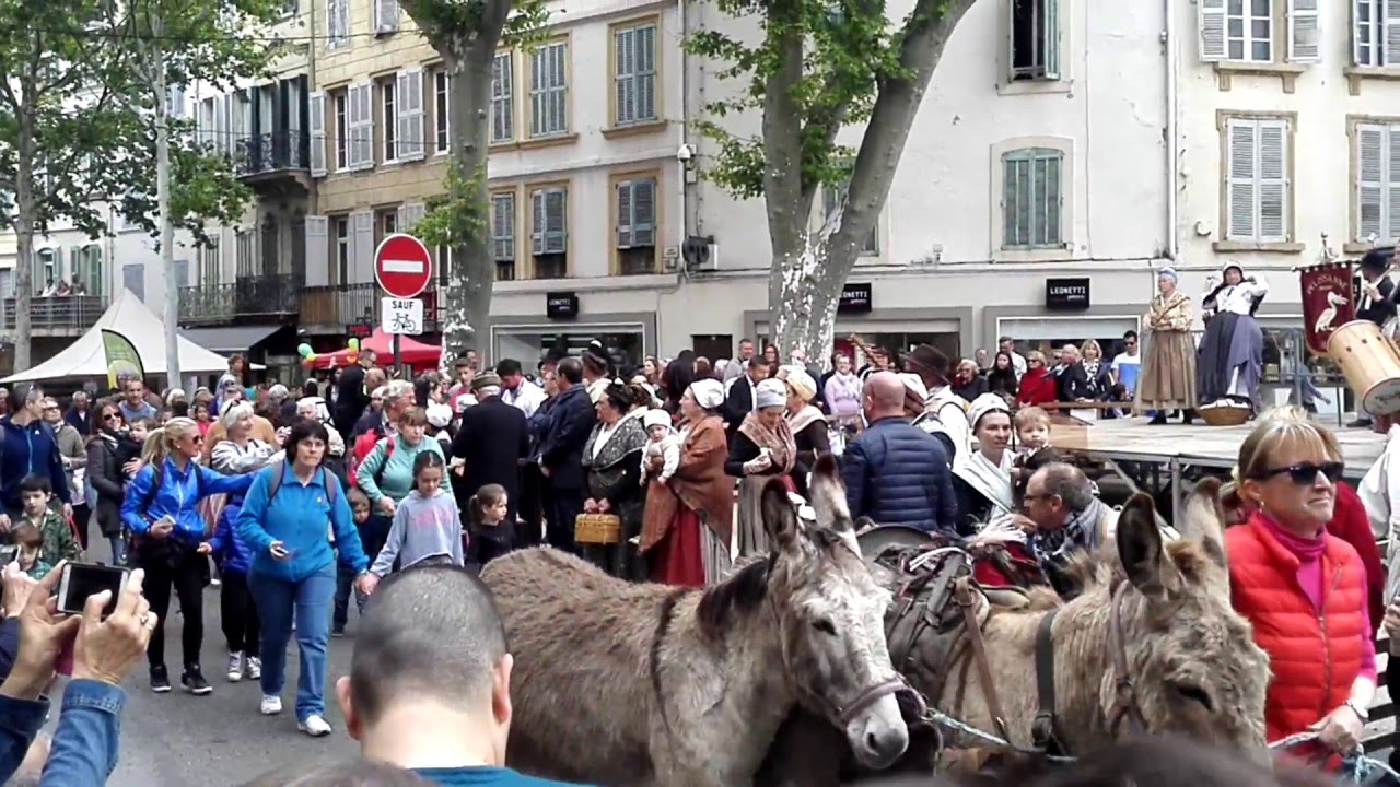 Transhumance salon de provence 30 04 2016 youtube for Garde meuble salon de provence