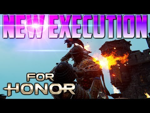 [For Honor] NEW Centurion Execution! Patch 1.09