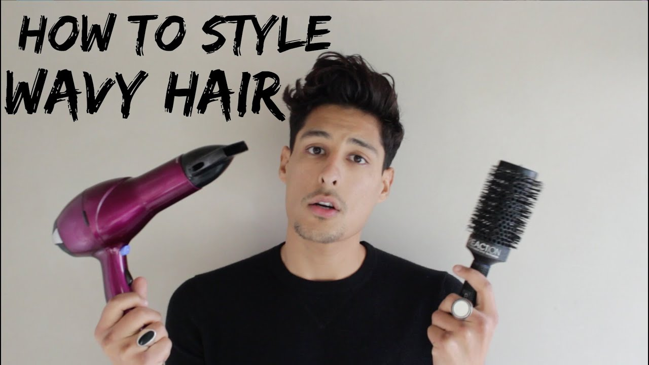 HOW TO MANAGE MENS WAVY HAIR