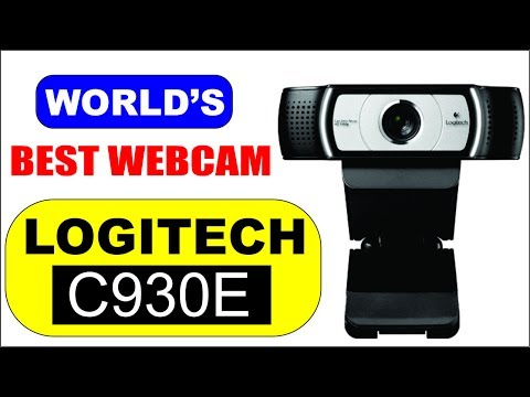 Best Webcam For YouTube Videos and Video Calls / Logitech C930e / Urdu-Hindi