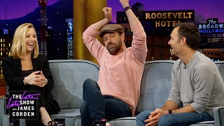 Lisa Kudrow, Jason Sudeikis & Will Forte Are All Romantics In Their Way