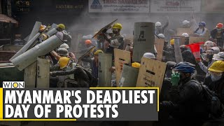 Myanmar Update: At least 38 killed in the deadliest day of protests | Military Coup | English News