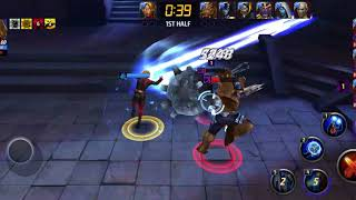 Adam Warlock Shadowland Floor 29 Solo [No HP Lost] - Marvel Future Fight