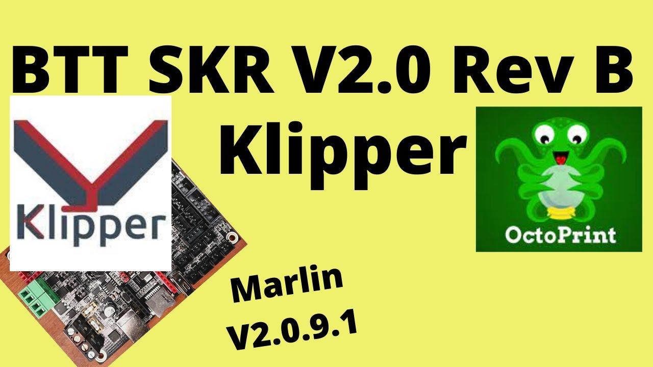 Download BTT SKR2 -Klipper Firmware Install
