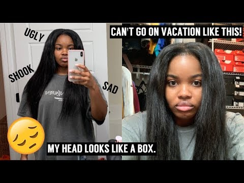 I tried a NEW HAIRSTYLE/WIG and THIS IS HOW IT LOOKS!! *i'm pissed* + NATURAL HAIR UPDATE thumbnail