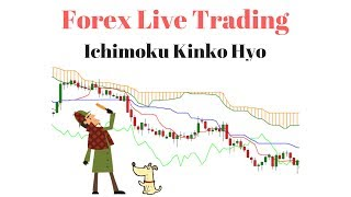 Forex Live Trading - Trading the Ichimoku Indicator