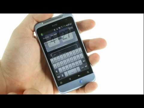 HTC Salsa unboxing and UI demo