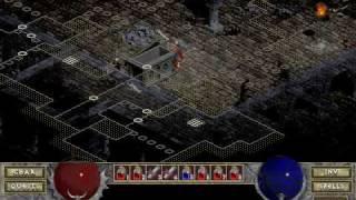 Diablo 1 - Single Player Warrior Walkthrough (Part 1)