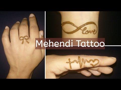Latest Beautiful Easy Mehndi Tattoo Designs For Girls Innovative You
