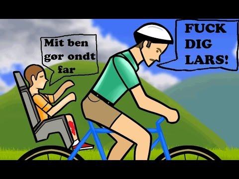 DIN FEDE NØRD LARS! - Happy Wheels