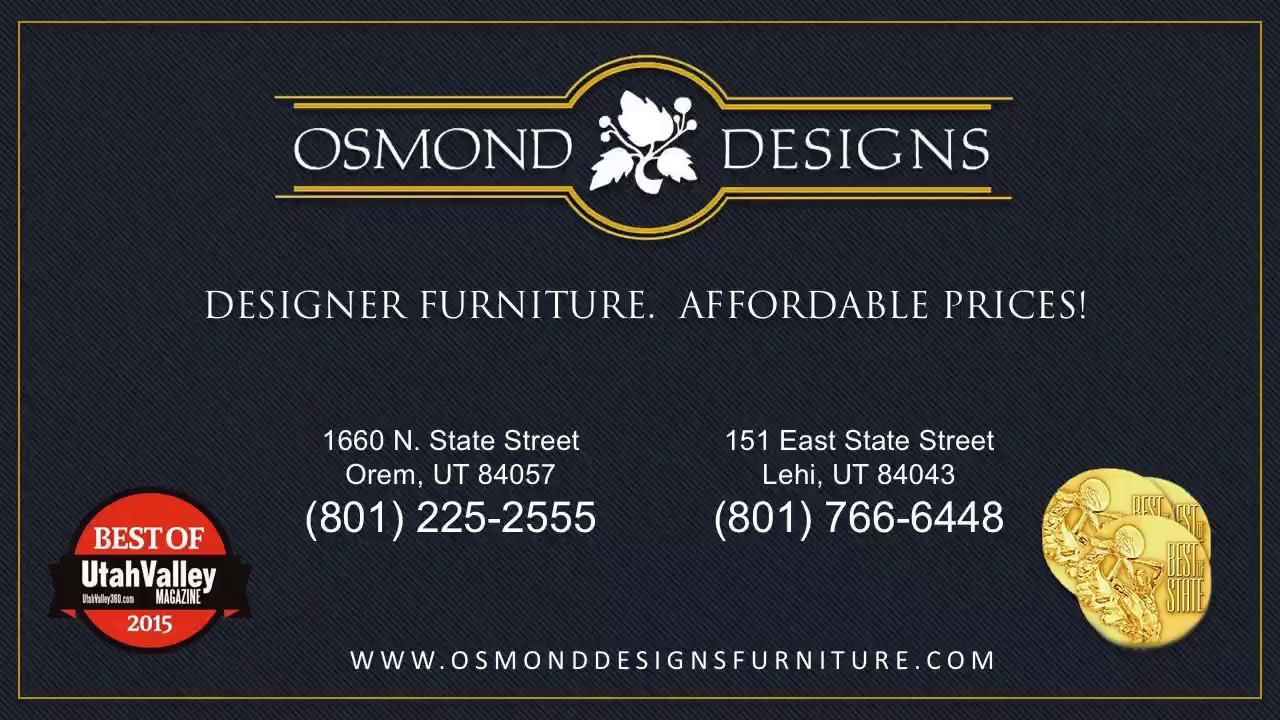 Affordable Furniture In Orem Utah Youtube