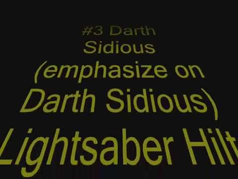 Unique Lightsabers Hilts