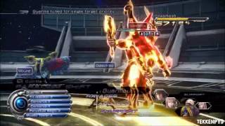 FFXIII-2 DEFEATING GILGAMESH - YAKSHINI AND ELIXIR METHOD