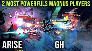The Two Most Powerful Magnus Players in the World? Arise vs GH on Their Signature Heroes - Dota 2