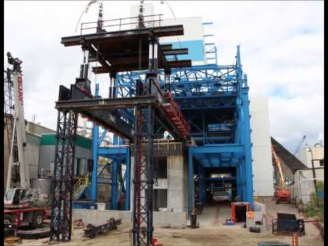 Heavy Lift Project - Steam Turbine and Generator in Temiscaming, Quebec