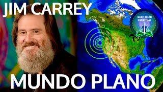 JIM CARREY DESCUBRIÓ QUE EL MUNDO ES EN REALIDAD PLANO Y NO REDONDO! Exclusivo! TERRA PLANO!