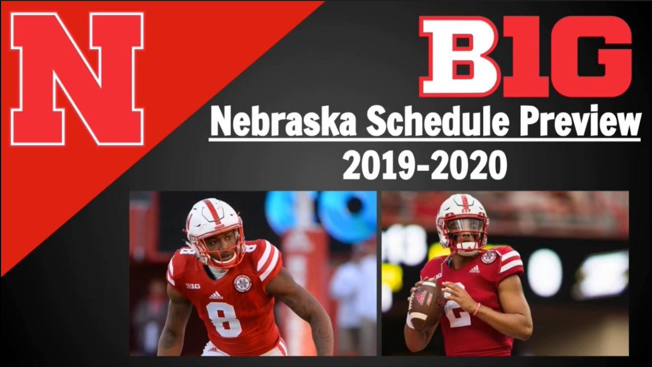 nebraska football 2020 schedule