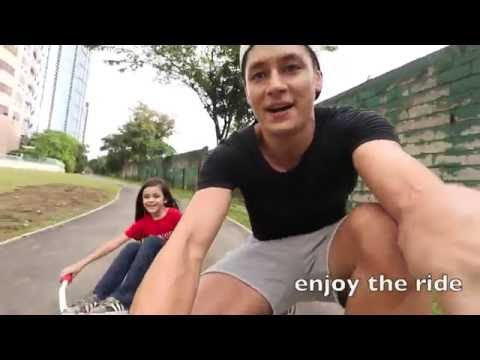 Vlog 1, Skating with my daughter in Philippines , BGC Taguig
