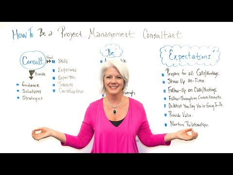 How to Be a Project Management Consultant - Project Manageme