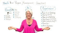 How to Be a Project Management Consultant - Project Management Training