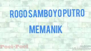 mp3 Jaranan RSP(ROGO SAMBOYO PUTRO)-MEMANIK VOC BU YAYUK